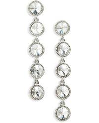 Ted Baker - Rizza Crystal Drop Earrings - Lyst