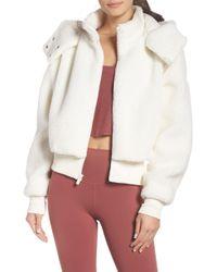 Alo Yoga - Foxy Faux Fur Jacket - Lyst