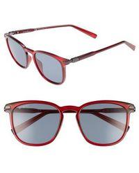 Ferragamo - Double Gancio 53mm Sunglasses - Bordeaux - Lyst