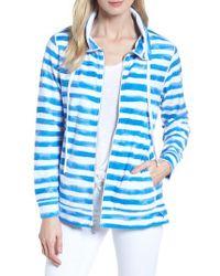 Tommy Bahama - Knoll Bellarossa Stripe Front Zip Jacket - Lyst