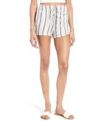 Michelle By Comune - Reklaw Stripe Shorts - Lyst