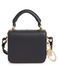 Sophie Hulme - Small Finsbury Leather Crossbody Bag - Lyst
