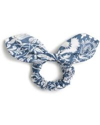 J.Crew | Mermaid Print Bow Ponytail Holder | Lyst