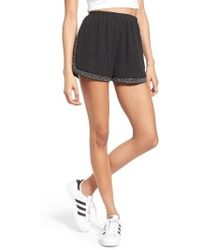 Soprano - Studded & Embroidered Shorts - Lyst