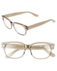 Corinne Mccormack - Rihanna 50mm Reading Glasses - Transparent Grey - Lyst