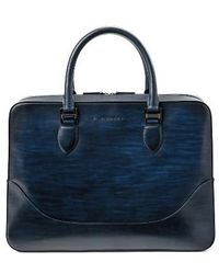 Saks Fifth Avenue - Medium Leather Briefcase - Lyst