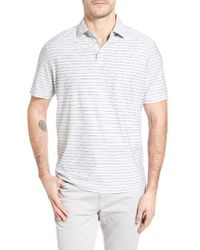 Maker & Company - Stripe Polo - Lyst