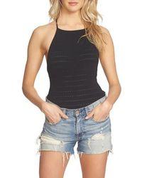 1.STATE - Strappy Back Bodysuit - Lyst