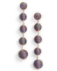 BaubleBar - Metallic Crispin Ball Statement Earrings - Lyst