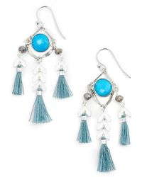 Chan Luu | Tassel Drop Earrings | Lyst