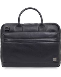 Knomo - Barbican Foster Leather Briefcase - - Lyst