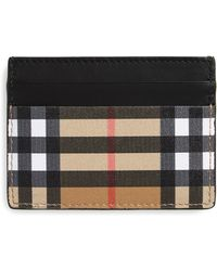 Burberry Grace Leather Card Case