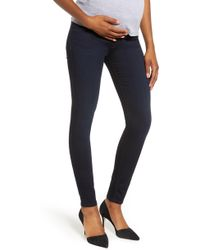 7 For All Mankind - 7 For All Mankind B(air) High Waist Ankle Skinny Maternity Jeans - Lyst