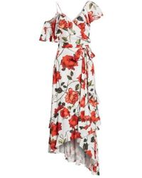 ARRIVE - Phoenix Ruffle Wrap Maxi Dress - Lyst