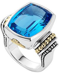 Lagos - 'caviar Color' Large Semiprecious Stone Ring - Lyst