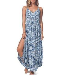 Rip Curl - La Playa Maxi Dress - Lyst