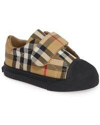 Burberry - Beech Check Sneaker - Lyst