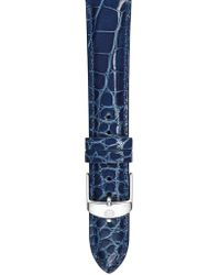 Michele - 16mm Alligator Watch Strap - Lyst