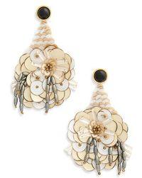 Lizzie Fortunato - Cascade Sequin Drop Earrings - Lyst