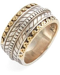 Konstantino - 'orpheus' Carved Band Ring - Lyst