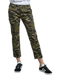 Volcom | Frochickie Crop Trousers | Lyst