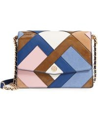 Tory Burch - Robinson Pieced Shoulder Bag - - Lyst