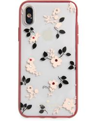 Kate Spade - Jeweled Camellia Iphone X/xs Case - - Lyst