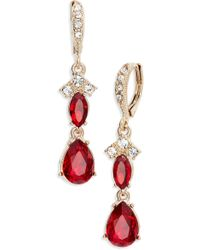 Givenchy - Crystral Drop Earrings - Lyst