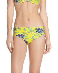 Diane von Furstenberg   Mid Rise Cheeky Bikini Bottoms   Lyst