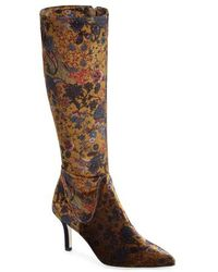 Ron White - Cher Floral Knee High Boot - Lyst