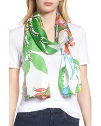 Echo - Alonnah Floral Silk Scarf - Lyst