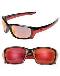 Oakley - Straightlink 61mm Polarized Sunglasses - - Lyst
