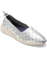 Cole Haan | Studiogrand Perforated Slip-on | Lyst