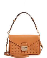Longchamp - Mademoiselle Calfskin Leather Crossbody Bag - Lyst