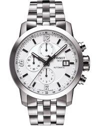 Tissot - Prc200 Automatic Chronograph Bracelet Watch - Lyst