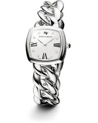 David Yurman - 'albion' 27mm Stainless Steel Quartz Watch With Diamonds - Lyst
