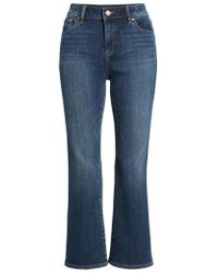 Two By Vince Camuto | Cropped Flare Jeans | Lyst