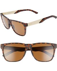 7c529068ad17 Lyst - Smith Lowdown Xl 2 60mm Chromapop(tm) Square Sunglasses in Brown