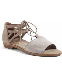 Paul Green - Morea Lace-up Sandal - Lyst