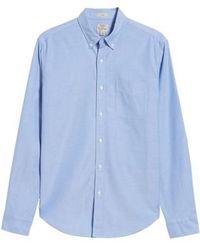 J.Crew | J.crew Slim Fit Stretch Pima Cotton Oxford Shirt | Lyst