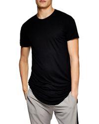 TOPMAN - Scotty Longline T-shirt - Lyst