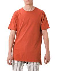 Zanerobe - Flintlock Solid Longline T-shirt - Lyst