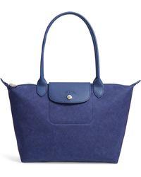 Longchamp - Le Pliage Jeans Small Shoulder Bag - - Lyst