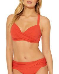 Bleu Rod Beattie Underwire Bikini Top