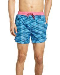 b5ef58e504 DSquared² Toucan Bermuda Swim Short for Men - Lyst