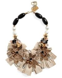 Lizzie Fortunato - Magic Hour Bib Necklace - Lyst