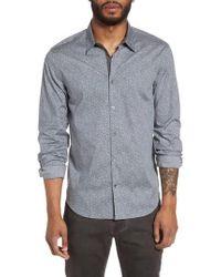 John Varvatos - Slim Fit Print Sport Shirt - Lyst