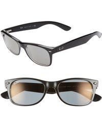 74e15ca60e3 Lyst - Ray-Ban New Wayfarer Classic 58mm Polarized Sunglasses -