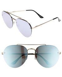 Quay - Somerset 65mm Aviator Sunglasses - - Lyst