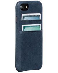 Sena - Iphone 7/8 Snap Wallet Case - - Lyst